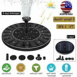 1 4w solar powered floating pump water