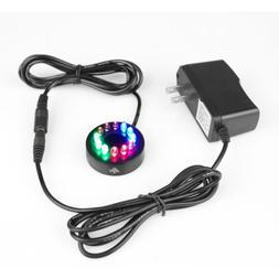 12 LED Fountain Ring Lights Auto Colored Changing Submersibl
