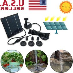 180L/h Solar Water Pump Floating Panel Kit Garden Watering P
