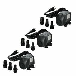 3 Pack Jebao FA-750 150GPH Submersible Water Fountain Pump P
