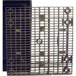 36 Inch X Heavy Duty Fountain Basin Grate - For Pond And Wat