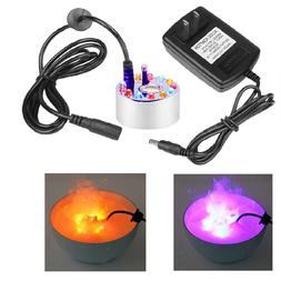 2Pcs Changing Color LED Mister Maker Fogger Water Fountain P