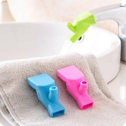 3Pcs Fountain Silicone Tap Kitchen Home Water Faucet Extende