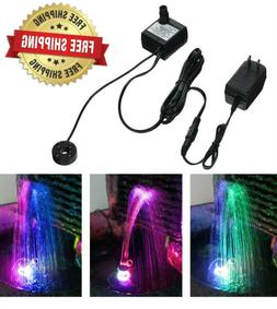 6 FT Color Changing LED Submersible Ring Light Fountain Gard