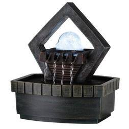 9.5 Meditation Fountain With Led Light