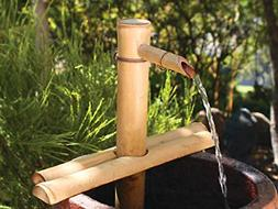 Bamboo Accents 12in. Adjust Spout and Pump Kit