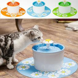 AUTOMATIC CAT DOG WATER DRINKING FOUNTAIN PET BOWL DRINK DIS