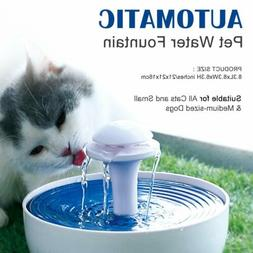 Automatic Dog Cat Water Fountain Pet Drink Filtered Dispense
