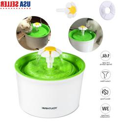 Automatic Electric 1.6L Adjustable Pet Water Fountain Dog/Ca