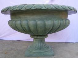 "bronze outdoor fountain 43"" x 43"" x 30"" H Brown color new co"