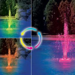 Swimline Color Changing LED Fountain For In-Ground & Above G