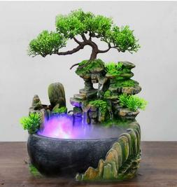 Creative Indoor Simulation Resin Rockery Waterscape Feng Shu