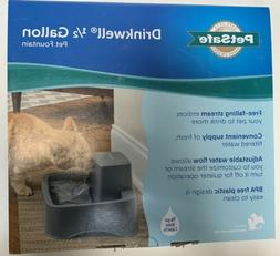 PetSafe Drinkwell 1/2 Gallon Pet Fountain for Cats & Small D