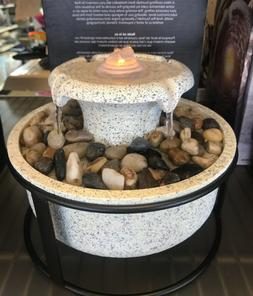 Homedics Euphoria Relaxation Tabletop Fountain w/ Sound - Na