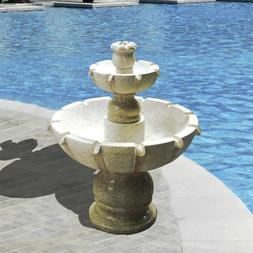 Fountain Outdoor Granite Water Desert Gold Yellow Granite Sm