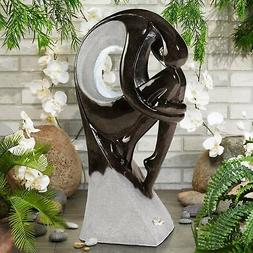 """Graceful Form Indoor or Outdoor 43"""" High Fountain"""
