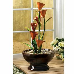 home garden decor freestanding calla