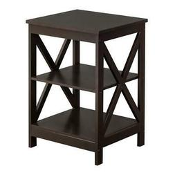 Hot Wood Sofa End Side Bedside Table Nightstand Storage Bedr