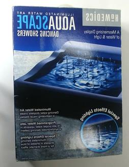 Homedics Illuminated Water Art Aquascape Dancing Showers AQ-