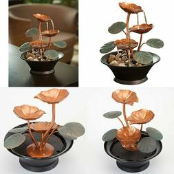 Bits and Pieces - Indoor Water Lily Fountain-Small Size Make