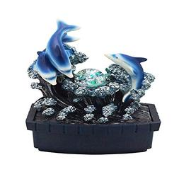 """ORE International FT-1223/1L Dolphin Table Fountain, 11.5"""","""