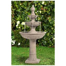"John Timberland Italian Outdoor Floor Water Fountain 48"" for"