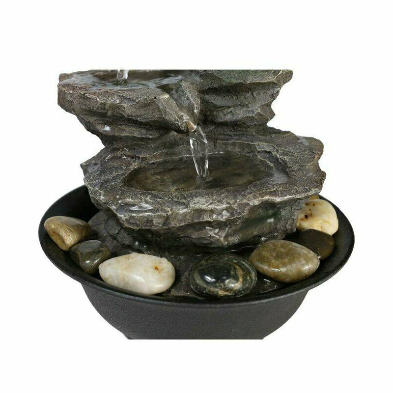 11.4 inch Relaxation Feature LED Decorative Water