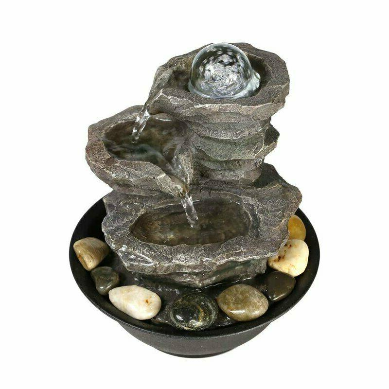 11.4 Relaxation Feature LED Water Fountain