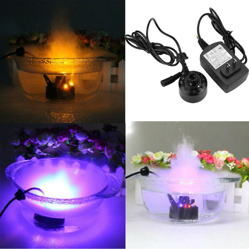12led mist maker atomizer air humidifier water