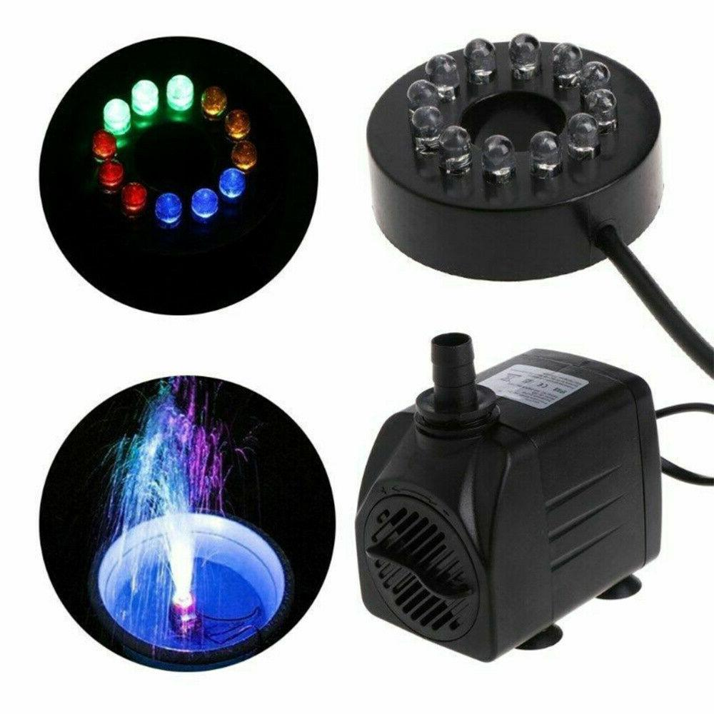 15W Water Fountain with Small Submersible for Tank
