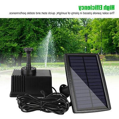 180L/h Fountain Submersible Water Pump Panel