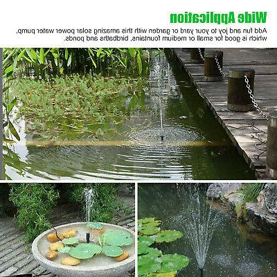 180L/h Submersible Water Panel Pool Pond