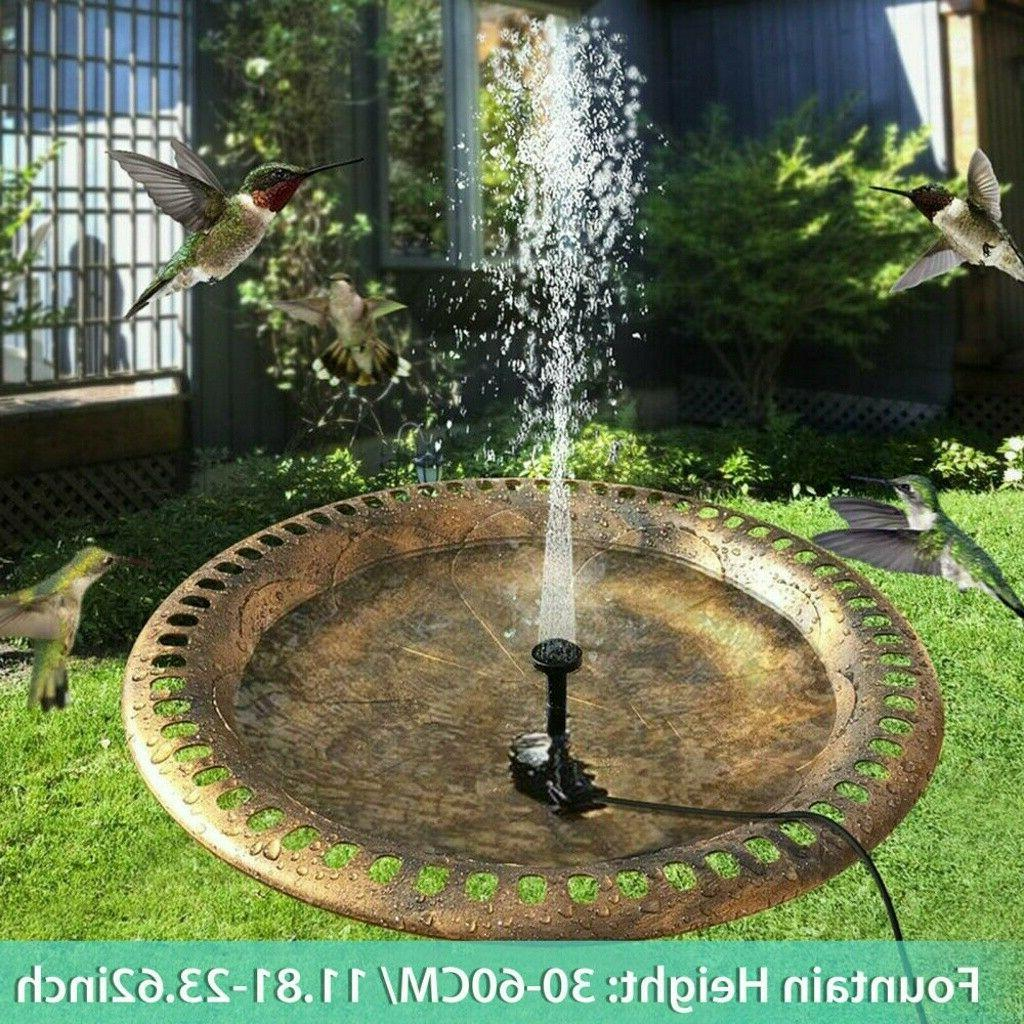 180L/h Solar Floating Kit Watering Power Fountain