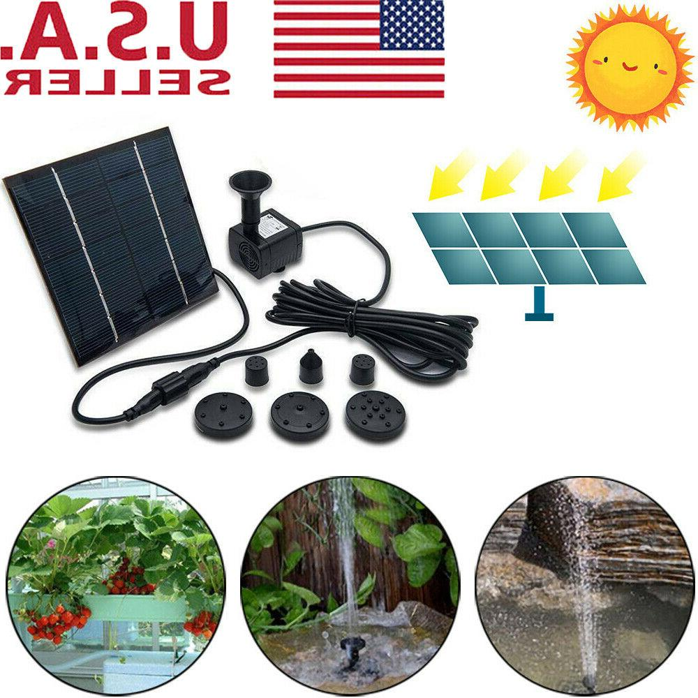 180l h solar water pump floating panel