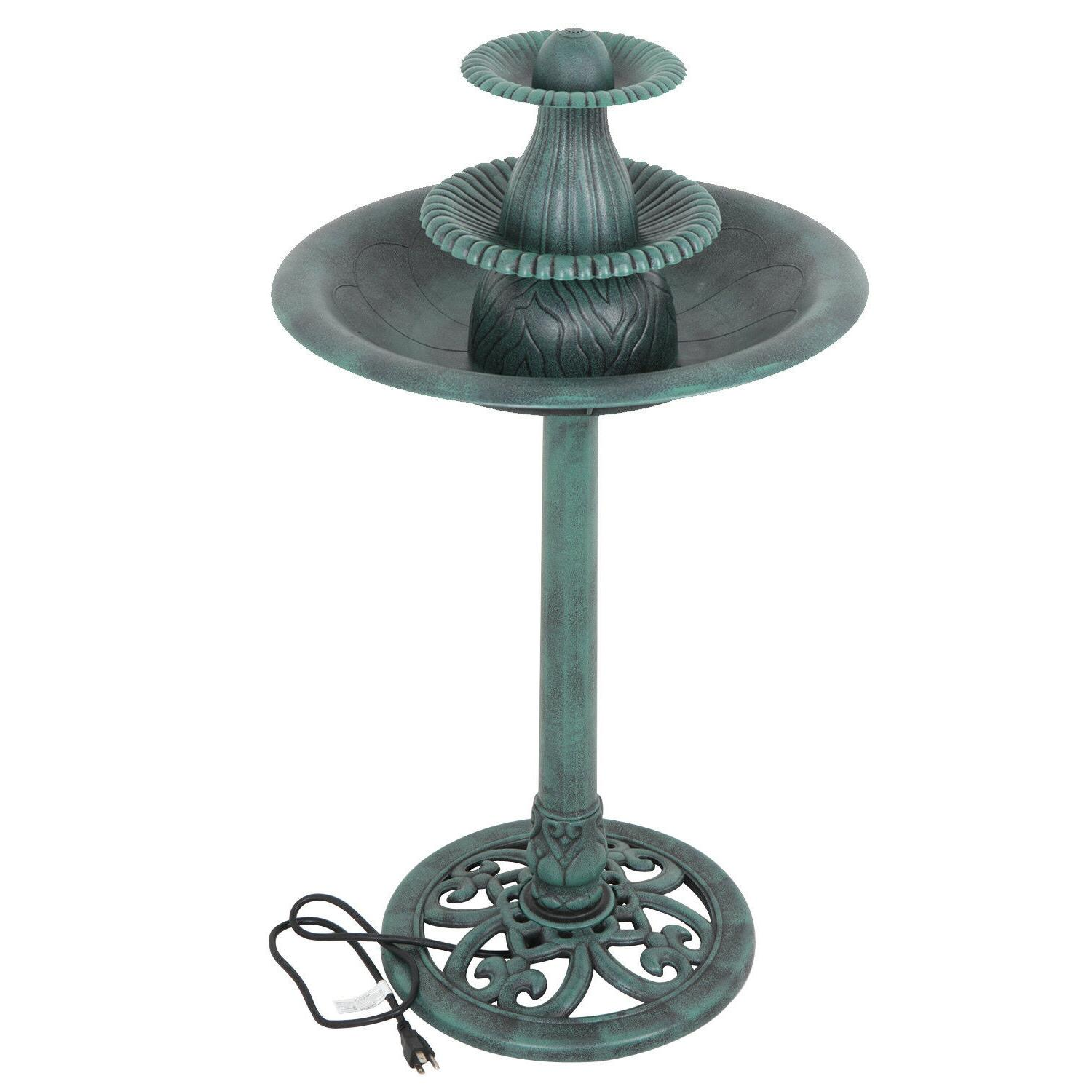3 Tier Fountain Pump Water Garden