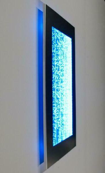 300WM Wall Bubble LED Fountain Feature
