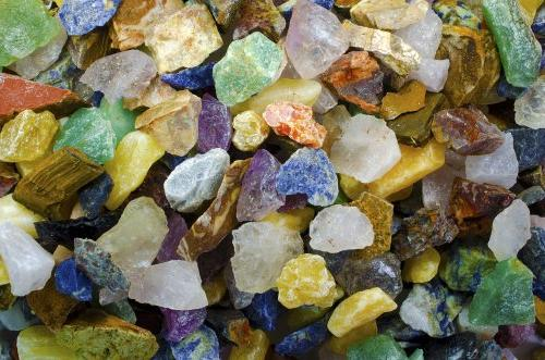 Hypnotic Gems Materials: 3 lbs Beautiful South American 12 S