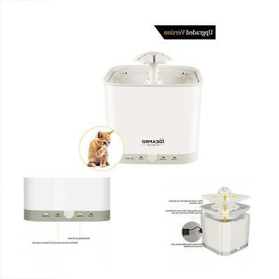 categories pet fountain water automatic electric bowl