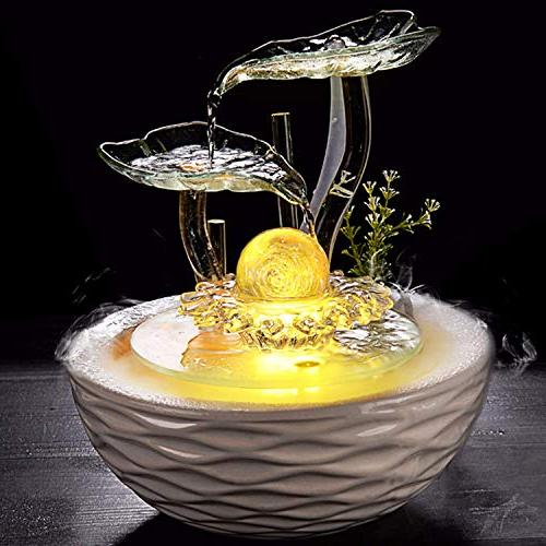 Ceramic Fountain Ball Home Craft Gifts Living Office furnishings