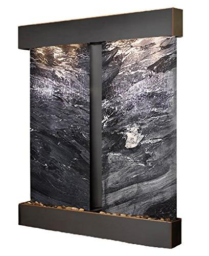 Cottonwood Falls with Blackened Trim and