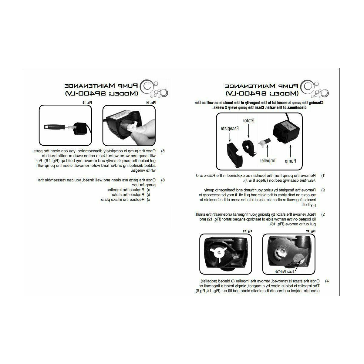 Drinkwell Cat Water Fountain Replacement kit