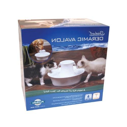 Drinkwell Ceramic Fountain for Pets