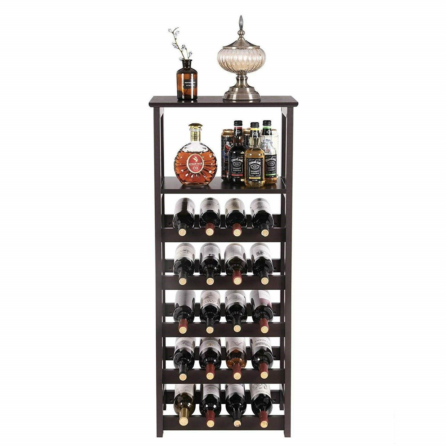 Floor Standing Modern Wood Cabinet Holder Storage