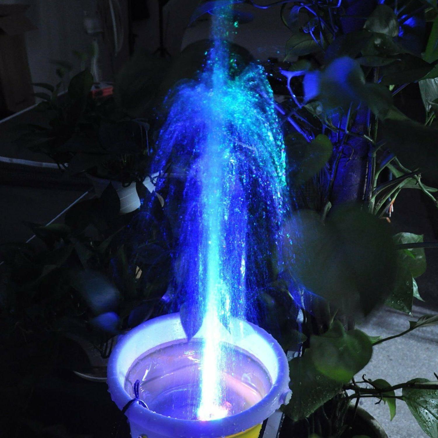 Fountain Water Pump 12 LED for Fish 15W 500L/H