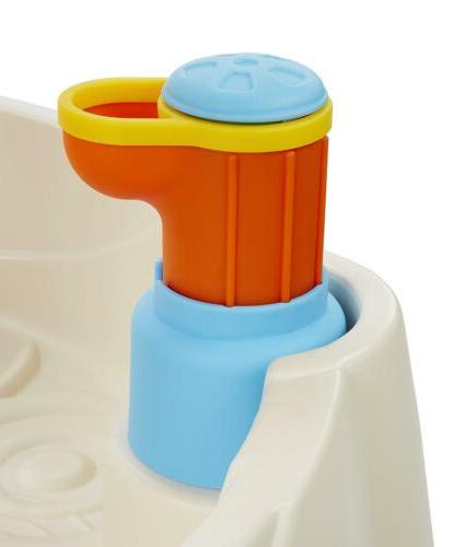 Fountain Water Table Little Kids Outdoor Toys Sensory