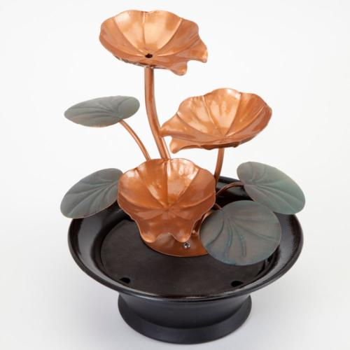 Bits and Indoor Water Lily Fountain-Small Size Makes A