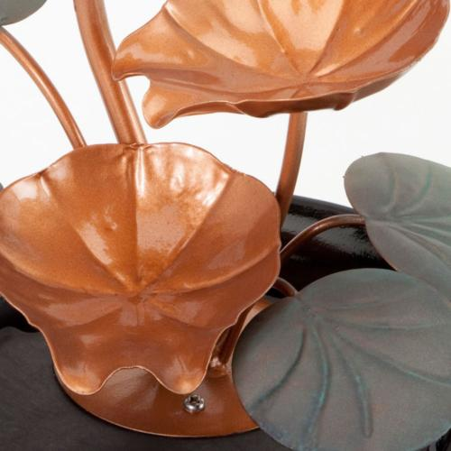Bits Pieces - Indoor Lily Water Fountain-Small Size Makes A