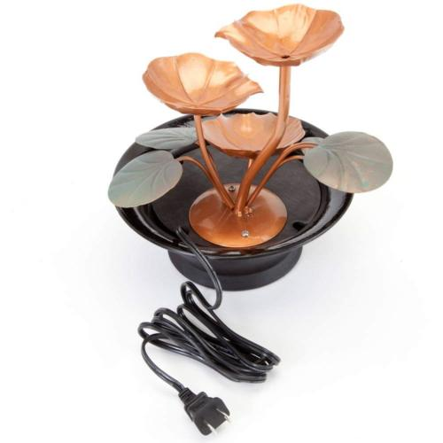 Bits and Indoor Water Lily Fountain-Small Makes A and