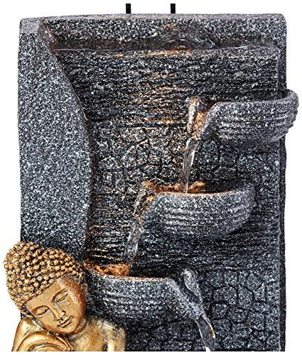 "Kneeling Buddha 17""H Indoor/Outdoor Table"