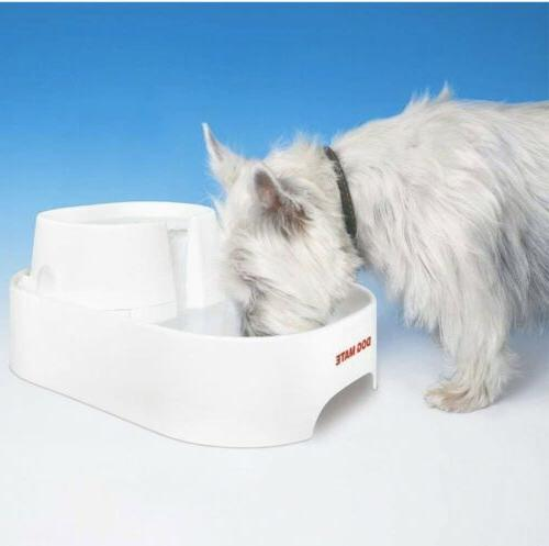 large fresh water drinking fountain for dogs